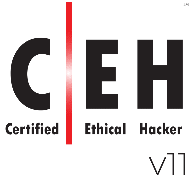 A message from a Hacker Ceh logo 11
