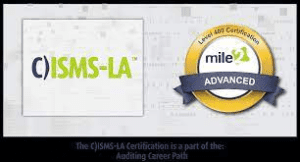 Information Security Management Systems Lead Auditor C)ISMS-LA (Mile2 )