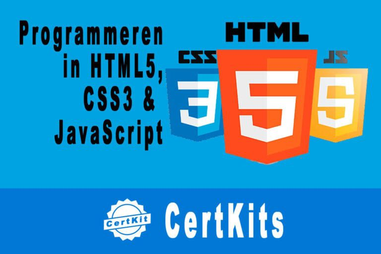 Programming in HTML5 with JavaScript and CSS3 (Zelfstudie pakket)